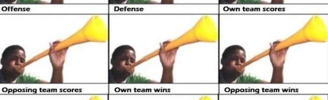 how to use vuvuzela